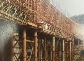 盛天建筑为重庆轨道交通十号线建设提供钢支撑材料